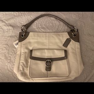 Coach Penelope Leather Buckle Hobo Bag